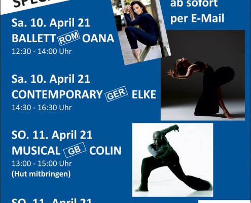 Spezial-Zoom-Workshop im April
