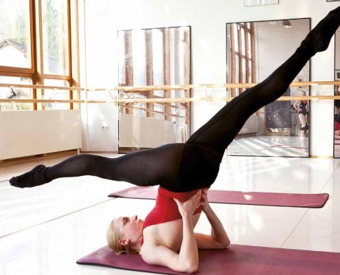 Yoga-im-Hofgarten