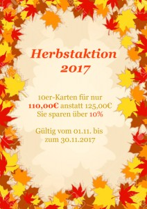 Herbstaktion 2017