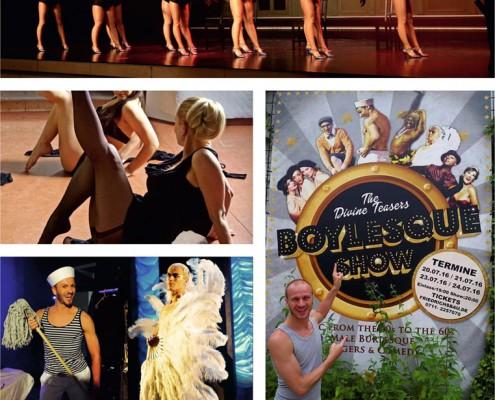 Burlesque-Dancing in Lohmar