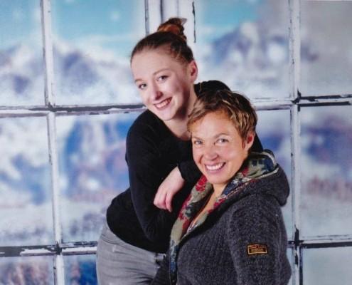 Weihnachtsbild Doris + Viviane-2