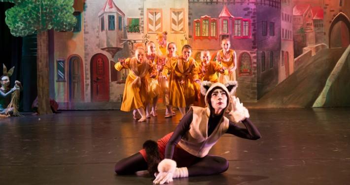 Ballettschule im Hofgarten Aufführung Der gestiefelte Kater Dezember 2016